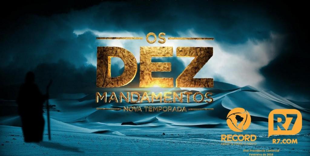 os-dez-mandamentos-record-novela Logo GRANDE