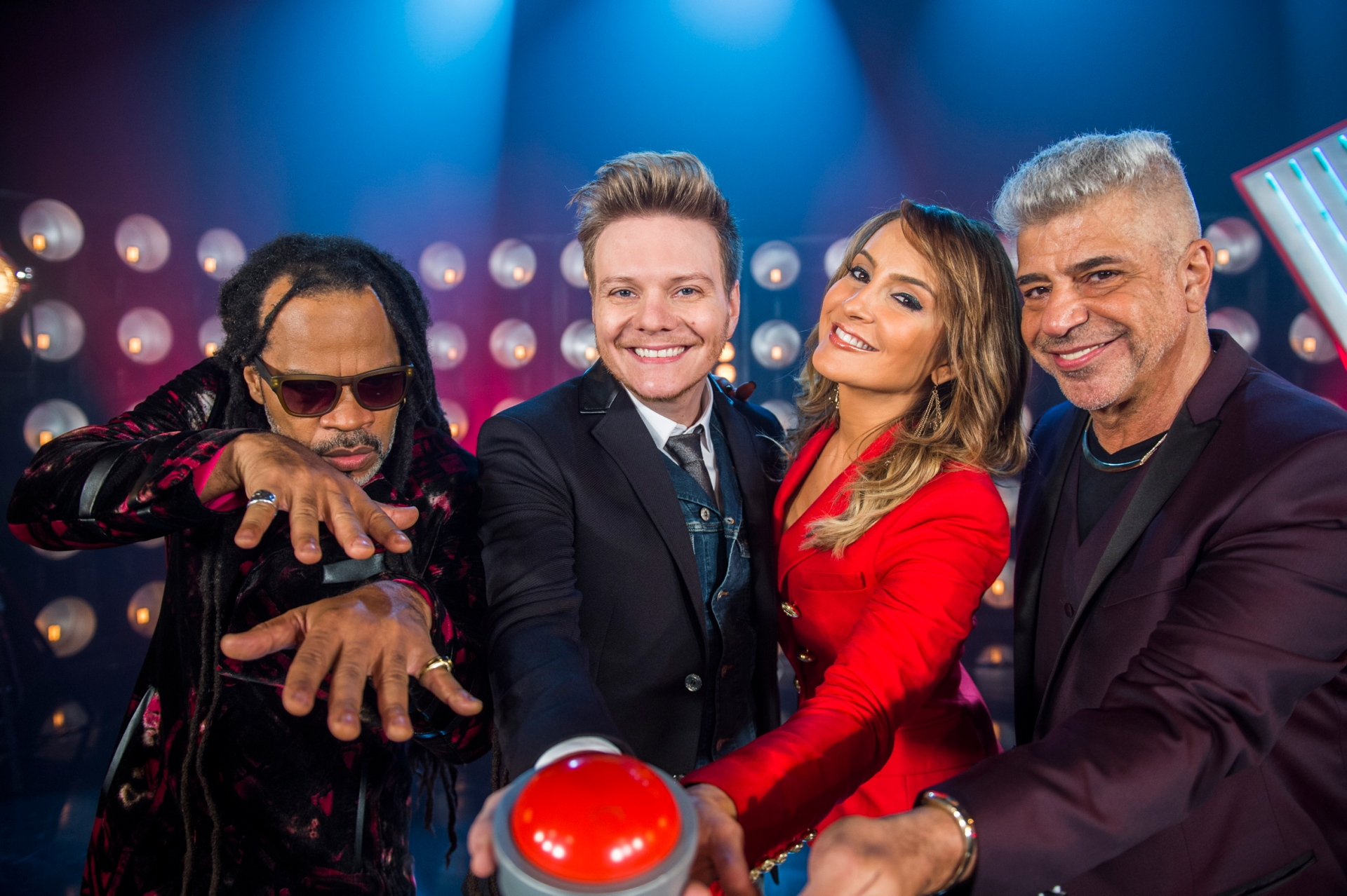 The Voice Brasil - Lulu Santos, Claudia Leitte, Carlinhos Brown e Michel Teló