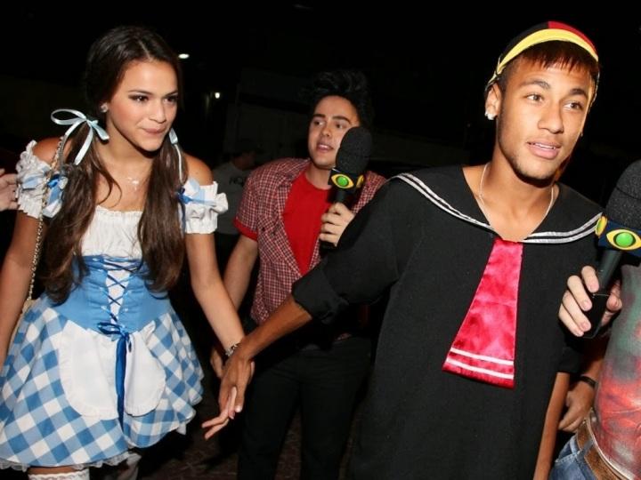 Resultado de imagem para Neymar e Bruna Marquezine